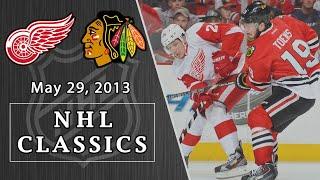 NHL Classics: Detroit Red Wings vs. Chicago Blachawks | 5/29/13 | NBC Sports