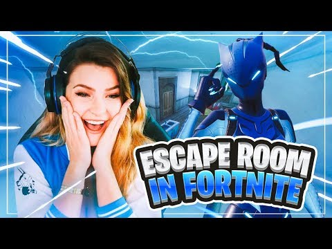 We played an Escape Room map on Fortnite: Battle Royale... (DREAM MAZE)   KittyPlays