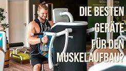 Die PERFEKTEN Geräte für schnellen Muskelaufbau?