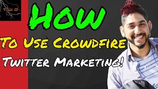 how to use Crowdfire for Twitter Marketing