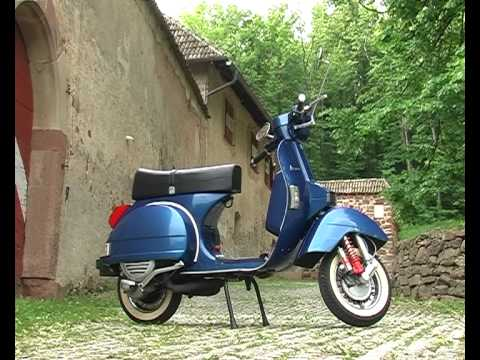 vespa px 125 1996 youtube. Black Bedroom Furniture Sets. Home Design Ideas