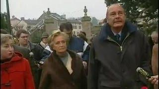 Visite du couple Chirac en Haute Vienne