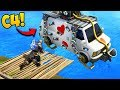 *EPIC C4 TRAP* ON GETAWAY VAN! - Fortnite Funny Fails and WTF Moments! #315