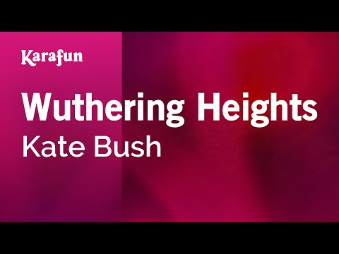 Karaoke Wuthering Heights - Kate Bush *
