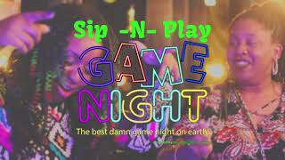 Sip -N- Play Game Night (Clt) | The Black Trivia Game Night!