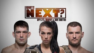What's Next for Demian Maia, Joanna Jedrzejczyk and Stipe Miocic After UFC 211?