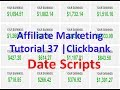 Affiliate Marketing Tutorial 37 | Clickbank | Date Scripts