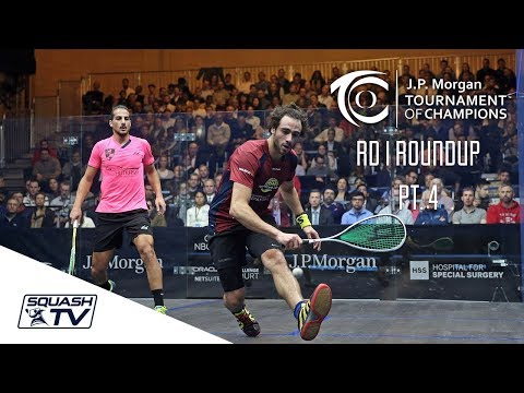 Squash: Tournament of Champions 2018 - Men\'s Rd 1 Roundup [Pt.4]