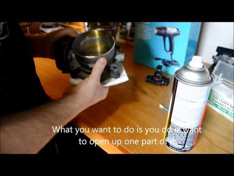 Garage How To and Mods - How to clean Mass Airflow Sensor and Throttle Body - EP4