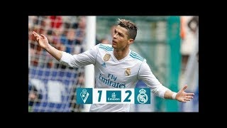 Eibar 1-2 Real Madrid | All Goals | COPE | Liga 2018
