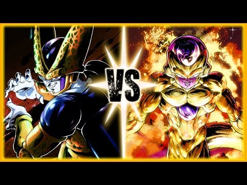 Perfect Cell Vs Golden Frieza Preview And Update