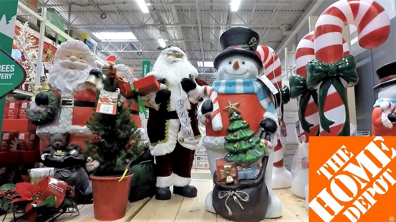 Home Depot Christmas Decorations.Christmas 2018 Decor At Home Depot Christmas Shopping Ornaments Decorations Wreaths