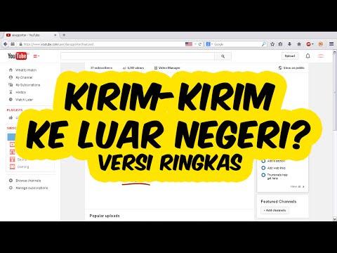 Cara Mengirim Paket / Barang Ke Luar Negeri Via Pos Indonesia