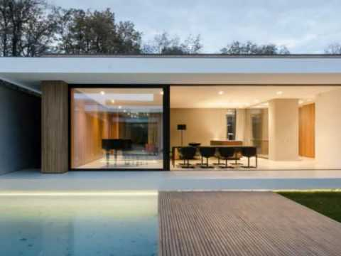Minimalist Home Design With Clear And Concise Exterior Lines That