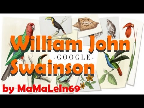 William John Swainson Google Doodle