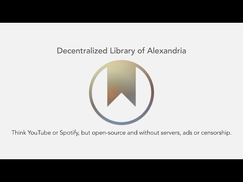 The Decentralized Library of Alexandria - San Diego Bitcoin Meetup 08/15