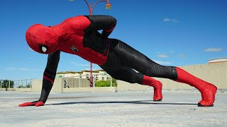 Spiderman's Workout Routine (In Real Life, Parkour)