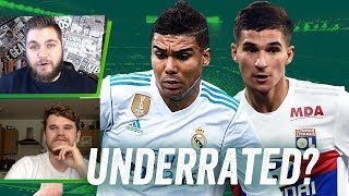 The most UNDERRATED midfielder in Europe is... Casemiro or Aouar? | w/ Statman Dave & Stephen Howson