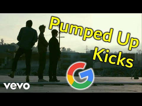 Pumped Up Kicks but every word is a Google image