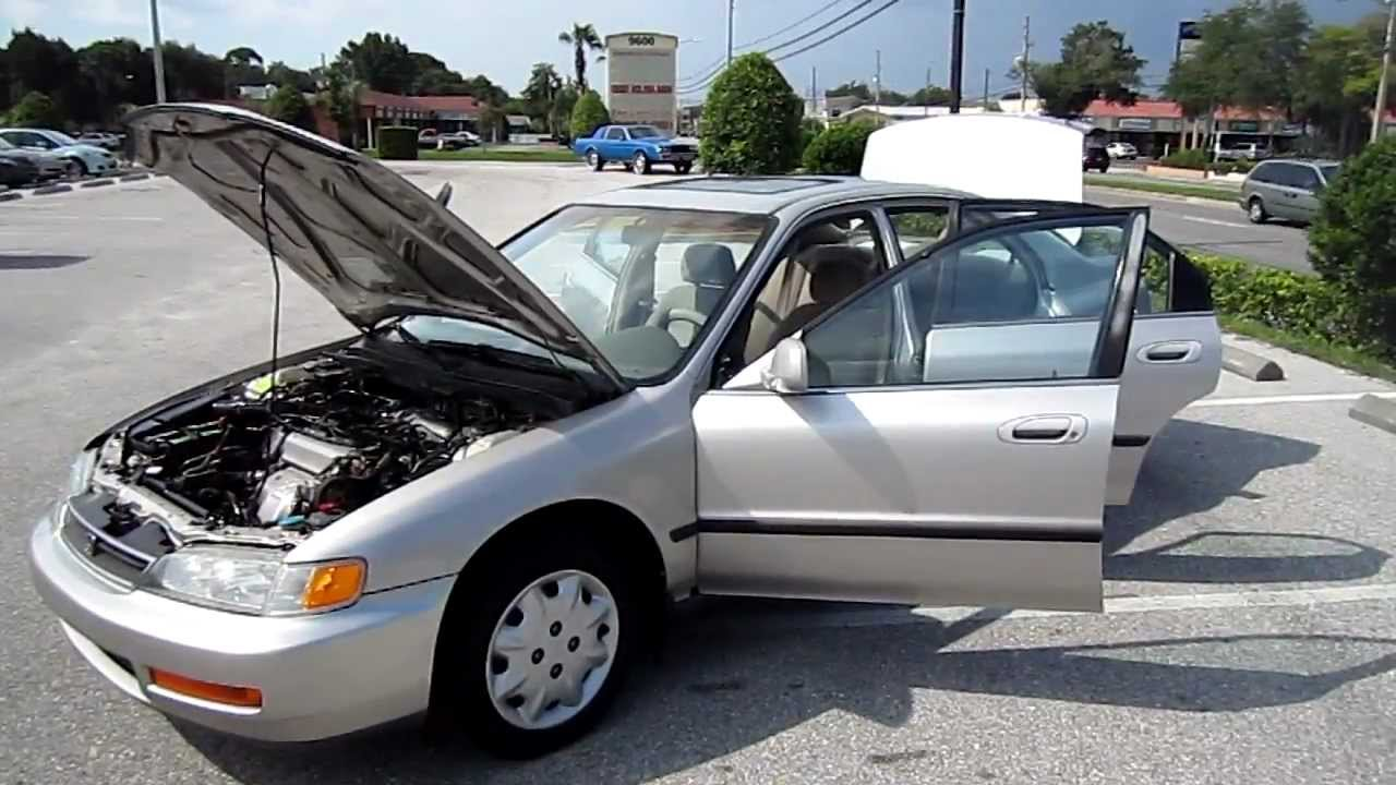 Superior SOLD 1996 Honda Accord LX 103k Miles Meticulous Motors Inc Florida For Sale    YouTube