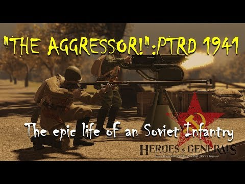 """THE AGGRESSOR!"":PTRD 1941 