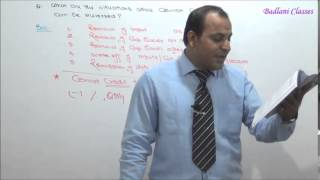 IDT - Indirect Tax - CENVAT CREDIT - Lecture 3