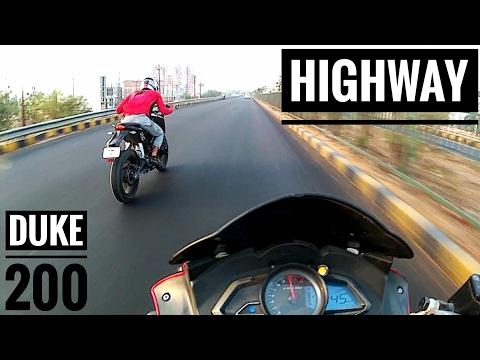 Pulsar RS 200 | Duke 200 | Highway | Top end
