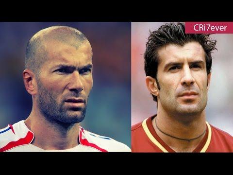 Zidane vs Figo - Legendary Middlefield in Real Madrid