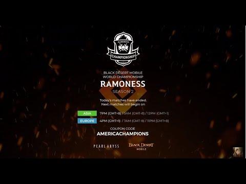 Black Desert Mobile Ramoness Season 2 NA Champions ...