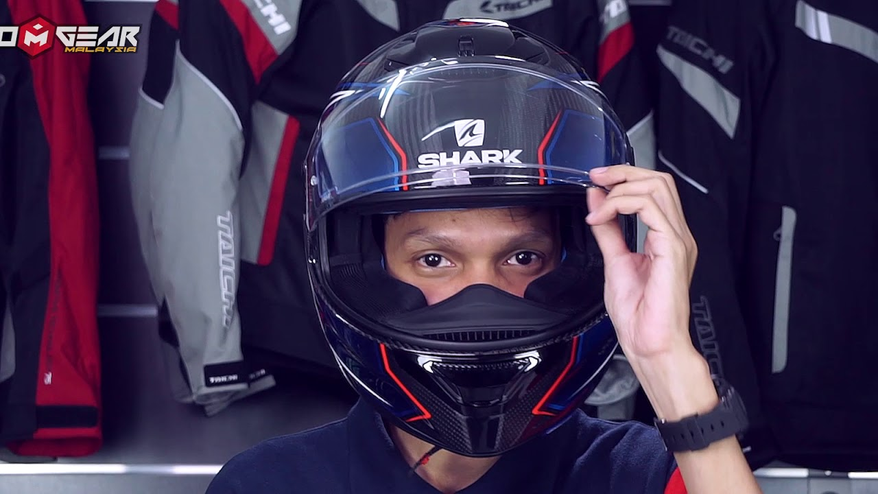 Shark Spartan Carbon Skin Guintoli Youtube