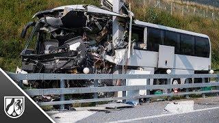 Sigirino: Bus aus Köln in der Schweiz verunglückt - viele Schüler an Bord