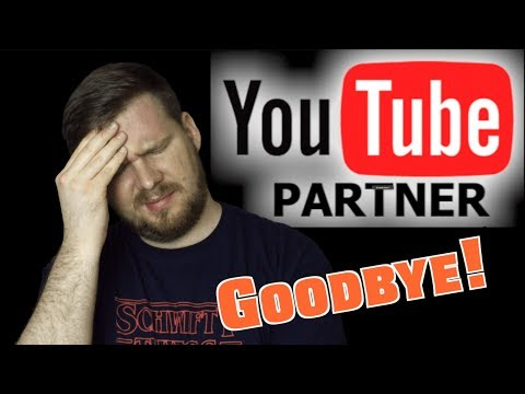 Thoughts on Losing My YouTube Partnership
