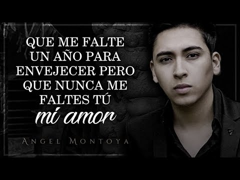 (LETRA) ¨NO ME FALTES TU¨ - Angel Montoya (Lyric Video)