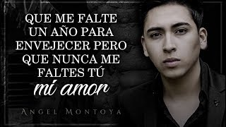 (LETRA) ¨NO ME FALTES TÚ¨ - Angel Montoya (Lyric Video) thumbnail