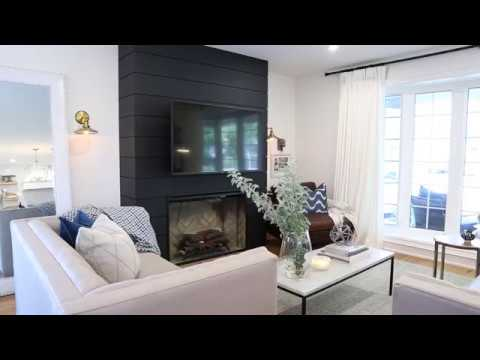 Interior Design Navy Living Room Transformation  YouTube