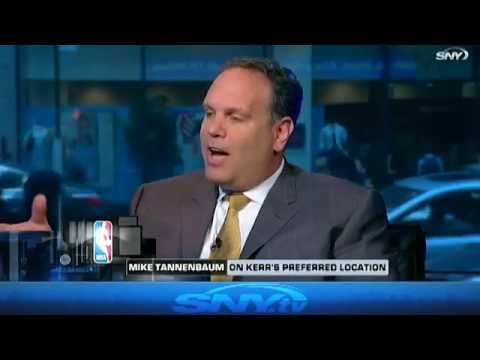 Mike Tannenbaum talks Steve Kerr's future