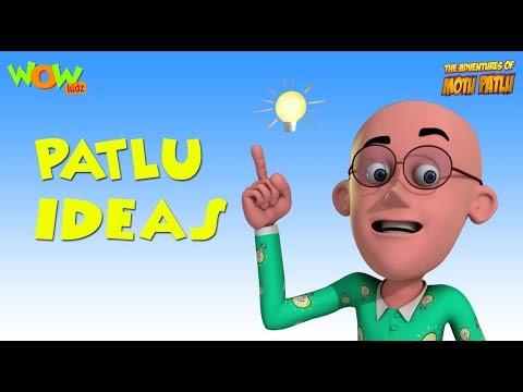 Motu Patlu Cartoons In Hindi | Animated cartoon | Patlu and his ideas | Wow Kidz
