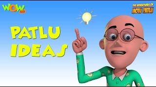 Motu Patlu Cartoons In Hindi | Animated cartoon | Patlu and his ideas | Wow Kidz - yt to mp4