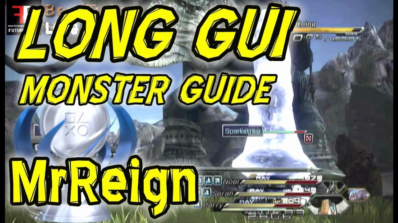 final fantasy 13-2 monster leveling guide