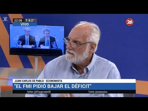 📡 Juan Carlos de Pablo sobre el acuerdo con el FMI en A fuego lento de Mariño y Rabanal 7/6/18