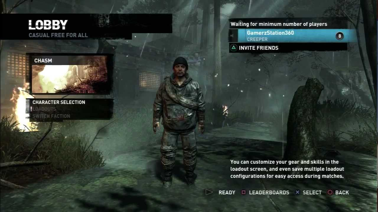 Tomb Raider 2013 All Multiplayer Characters Youtube