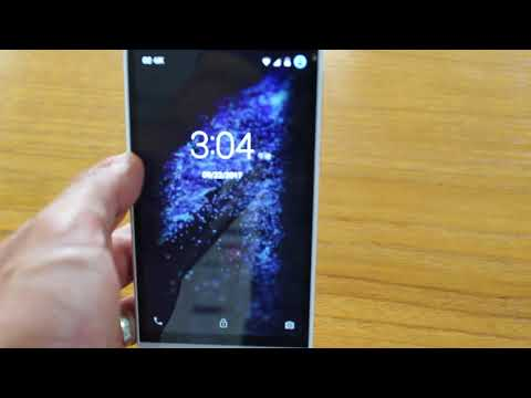 Blu Dash X Plus LTE 画面ロックの解除方法