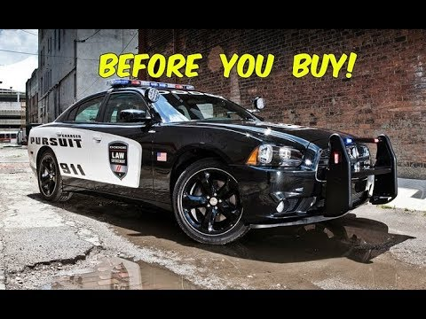 Before You Buy a Dodge Charger Police Package, WATCH THIS!