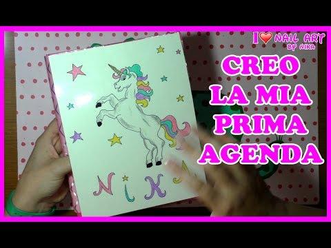 Video Tutorial DIY - Creo  la Mia prima Agenda Ad Anelli By Nika