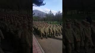 Amasya Asker yemin töreni için Hazırlık