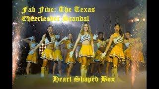 Fab five Texes Cheerleading | Ashley Benson | Heart Shape Box