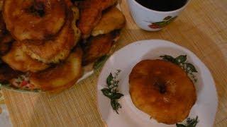 Яблочные пончики или яблочное кольцо