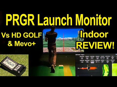 PRGR Launch Monitor - Review vs Flightscope Mevo+ & HD Golf from YouTube · Duration:  8 minutes 27 seconds