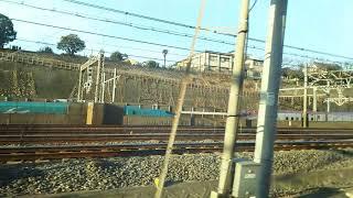 東北新幹線 はやぶさ103号 盛岡行き E6系とE5系 2019.01.08