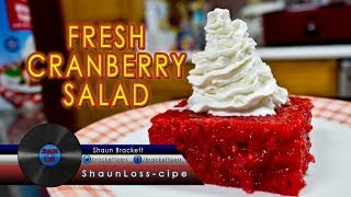 How To Make Fresh Cranberry Salad